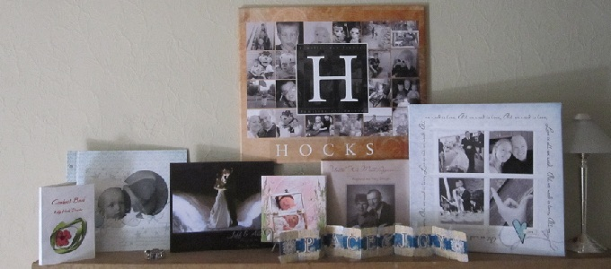 The joy of Not Scrapbooking but still makeing projects with my photos!